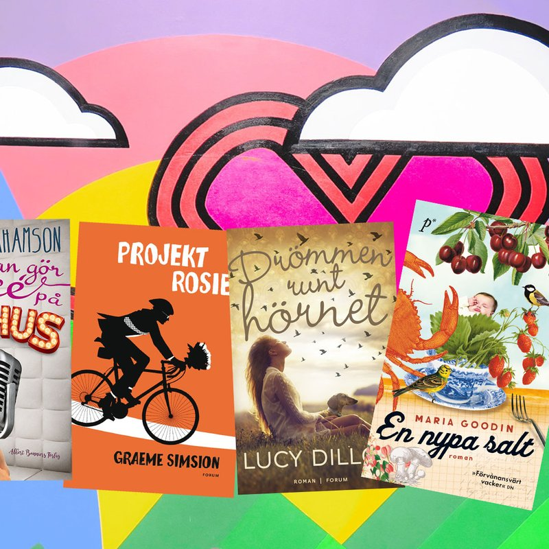 10 hjärtevärmande feelgood-böcker