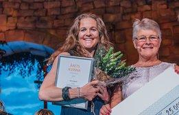 Hon prisas som Årets Kvinna i besöksnäringen
