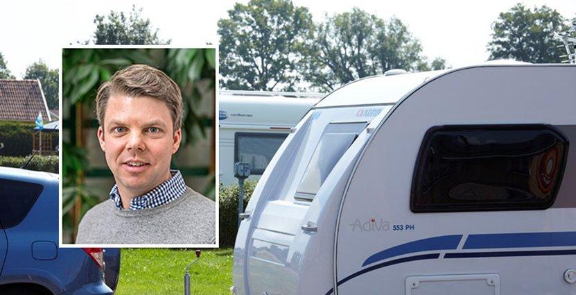First Camps vd Johan Söör spår en snabb digital utveckling för campingbranschen.