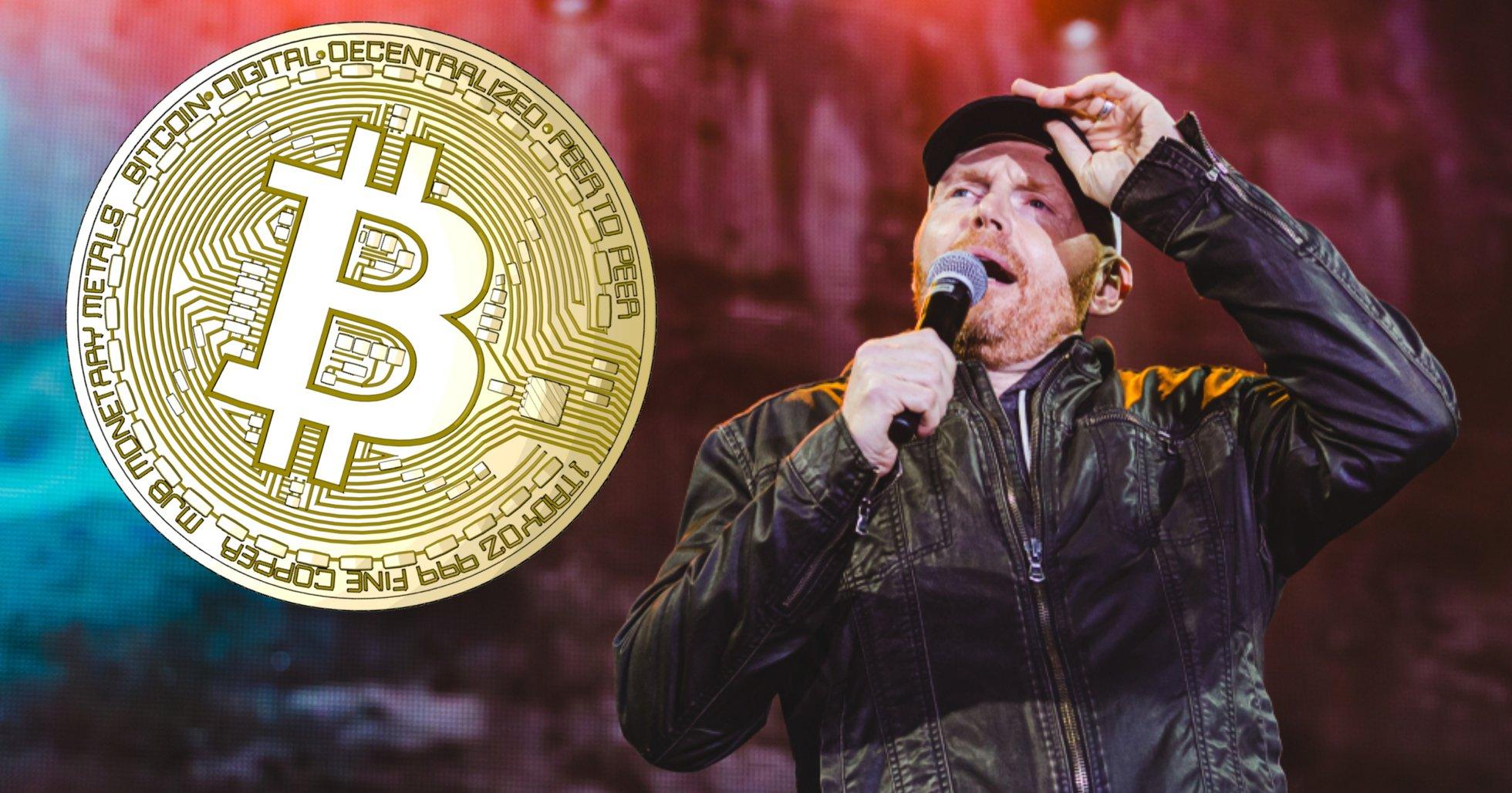 Komikern Bill Burr om bankerna och finanssystemet: Dra åt helvete – jag köper bitcoin