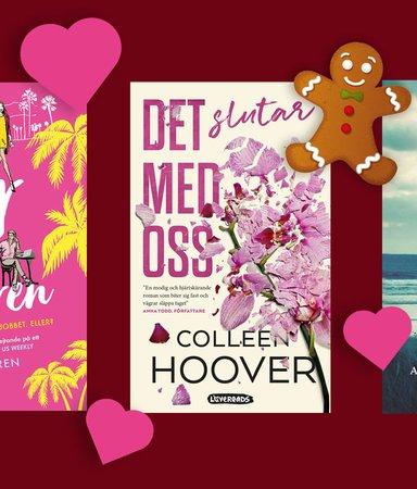 5 böcker att ge i julklapp till romance-fantasten