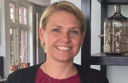 Hon är hotellkedjans nya säljchef med fäbless för extremsport