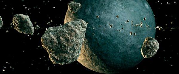 诱人的 太空岩石