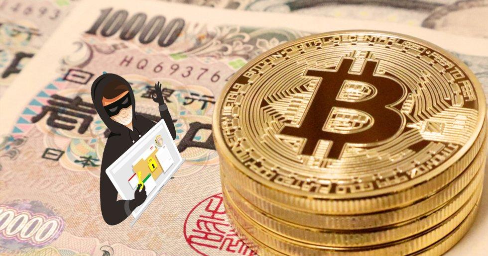Japanska börsen Bitpoint hackad – kryptovalutor värda 300 miljoner kronor stulna.