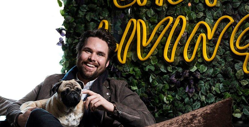 Marcus Sandén på Comfort Hotel i Malmö vill skapa en<br />  arbetsmiljö och kultur utöver det vanliga. Foto: Pressbild