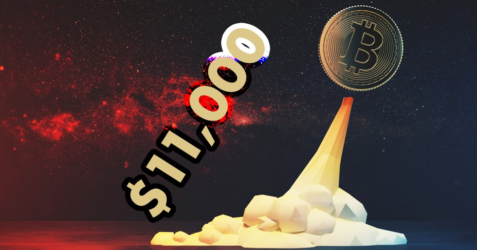 After volatile week: Bitcoin reached $11,000