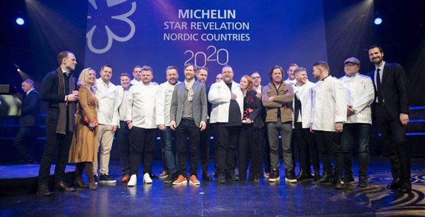 Michelin Guide Nordic Countries 2020. Foto: ©Michelin