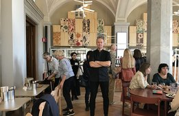 Högtryck på Nationalmuseums nya restaurang