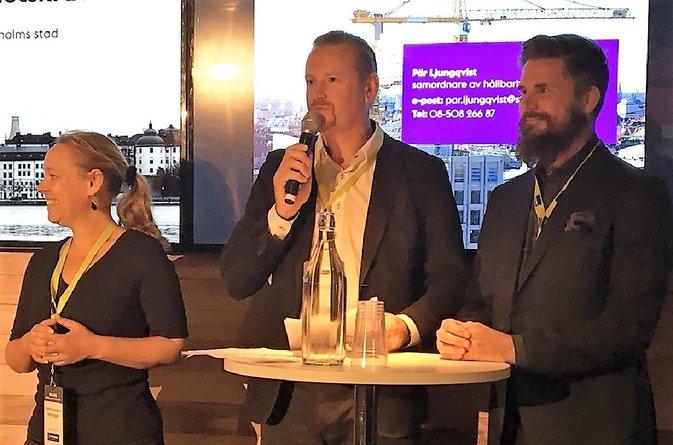 Åke Sundvall i paneldebatt om Stadens nya hållbarhetskrav