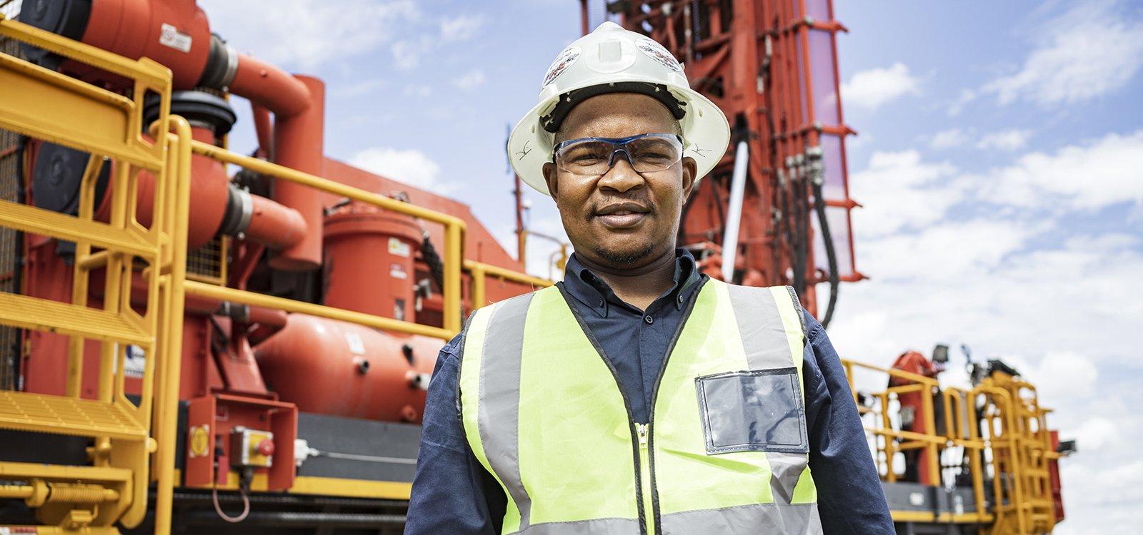 Kennedy Botsheleng, Mining manager, Mafube Coal