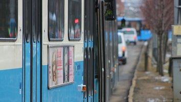 Inställda spårvagnar via Ullevi Norra