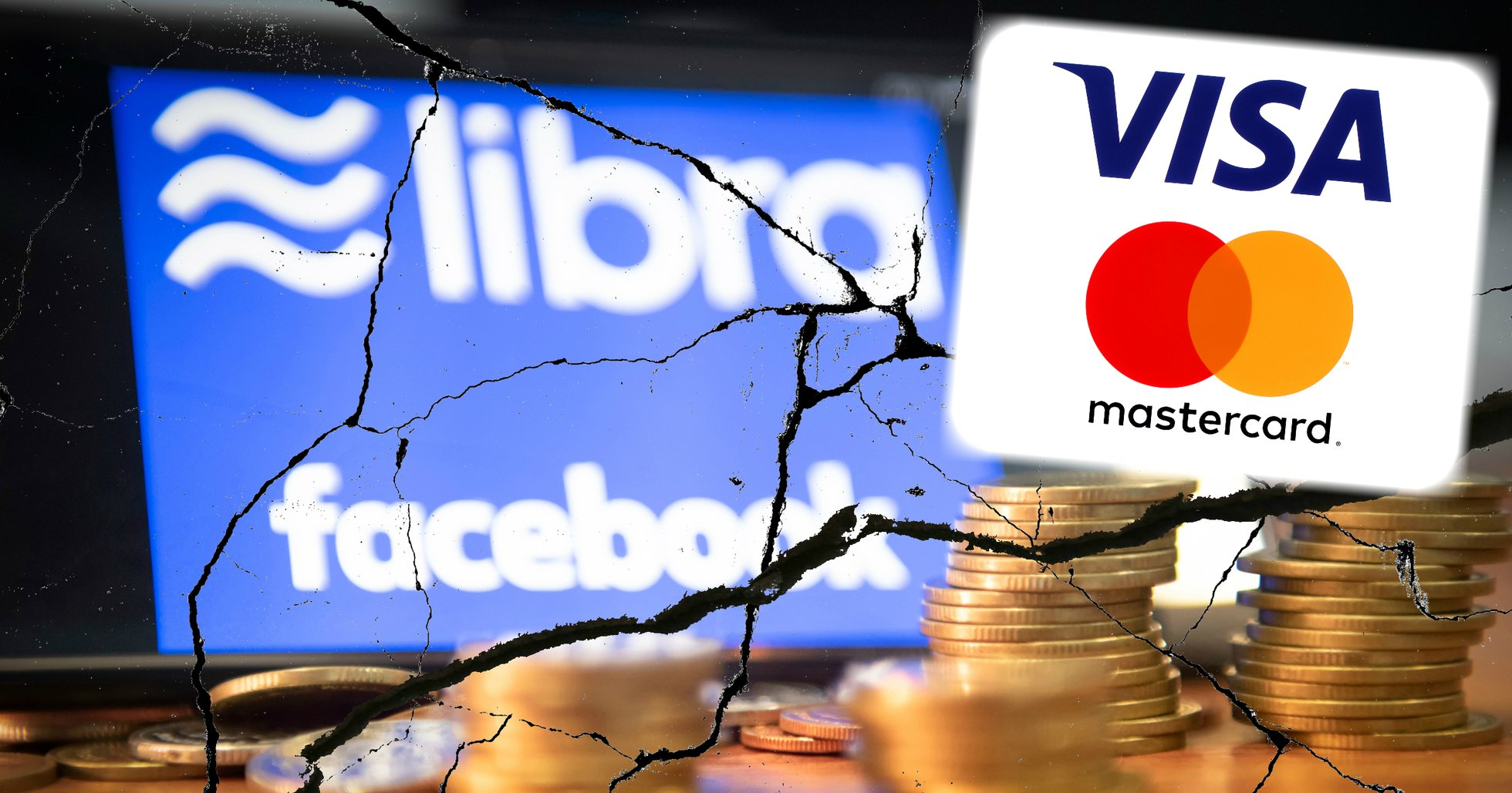 Nya bakslag för Facebooks libra – nu lämnar även Visa och Mastercard projektet.