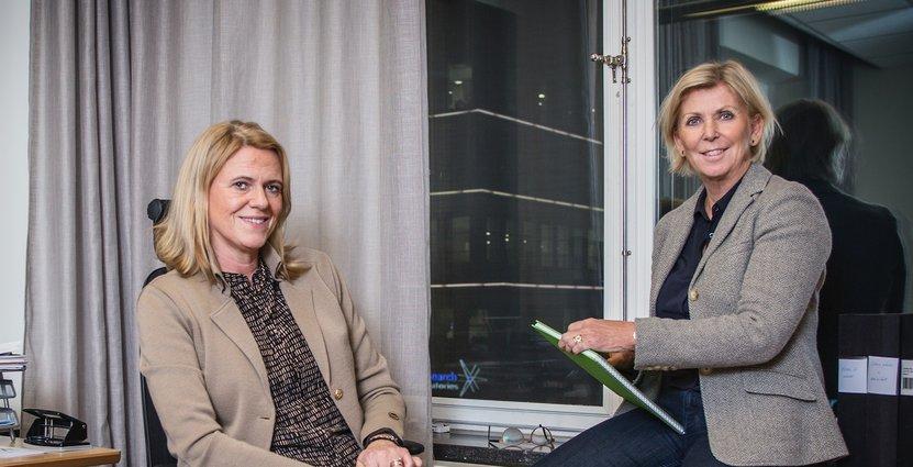 Viktiga förhandlingar väntar för Visitas förhandlingschef Antje Dedering och vd Eva Östling.