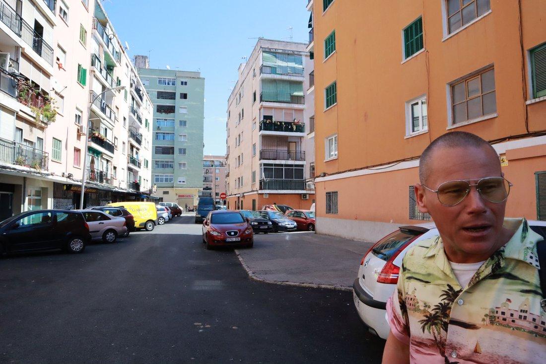 Området där Tim bor. Kallas för Las Avenidas.