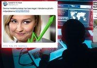 KD sätter ner foten när Ebba Busch Thor utnyttjas av bitcoinbedragare: