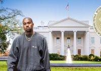 Kanye West kan bli USA:s mest kryptovänliga president någonsin