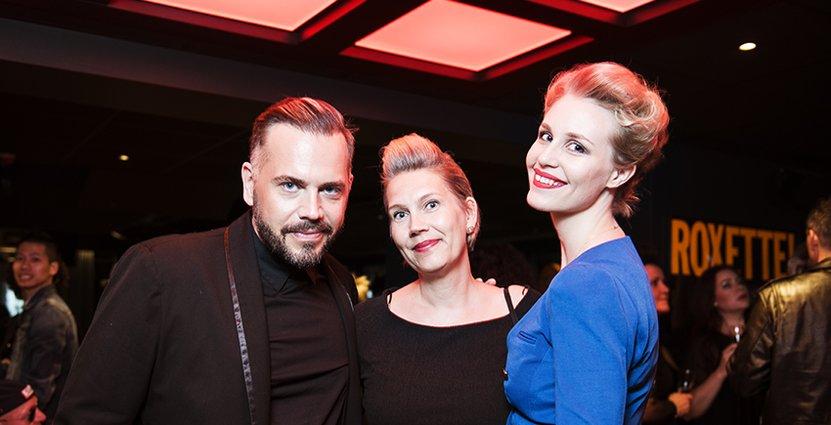 Johan Wiklund, Anna-Lena Wiklund-Rippert och Stina Åkerlund, Care of Gerd.