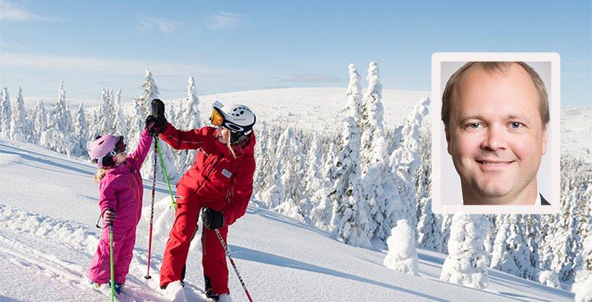 Anders Örnulf blir tillförordnad vd och koncernchef för Skistar<br />  från och med den 1 december. Foto: Pressbild/Skistar