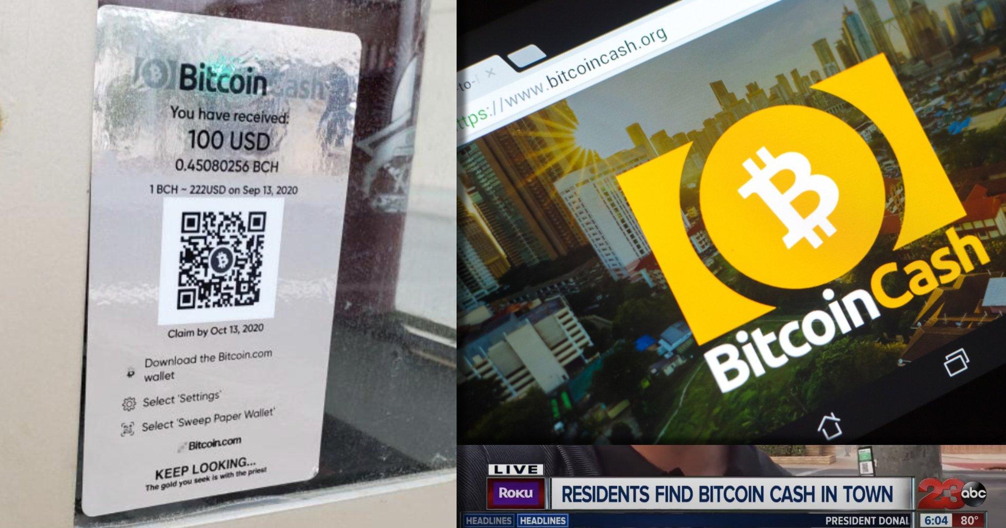 Bitcoin cash gavs bort i stor skattjakt – för att göra reklam för kryptovalutor