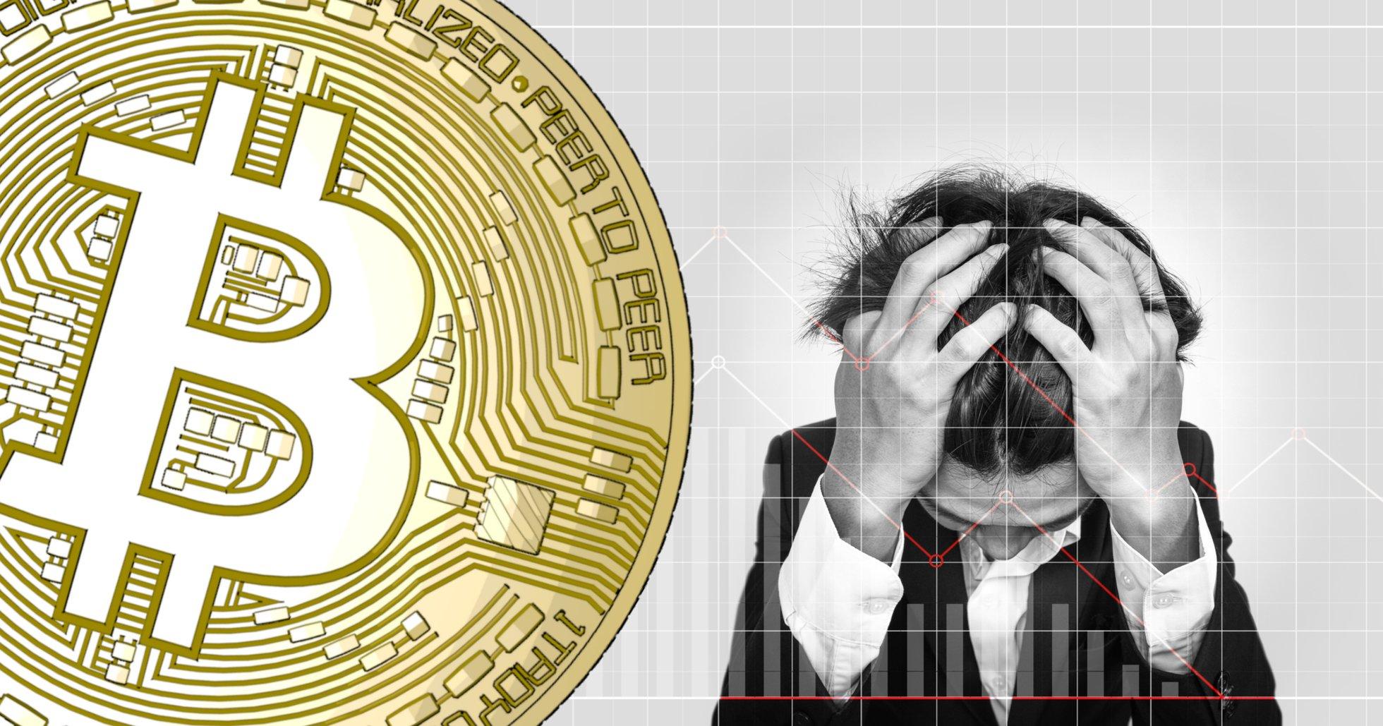 Kryptomarknaderna visar röda siffror – bitcoinpriset faller med nästan fem procent.