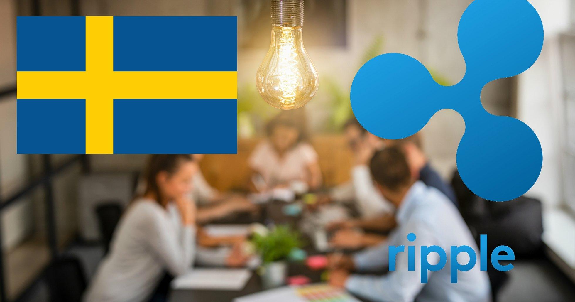 Ripple investerar i svensk kryptostartup.