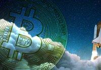 Bitcoinpriset rusar över 10 000 dollar – bara dagar innan halveringen