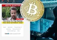 Bedrägeriet Bitcoin Revolution har spridit sig till Linkedin: