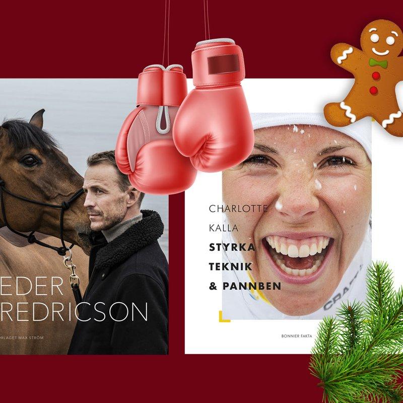 5 böcker att ge bort i julklapp till sportälskaren