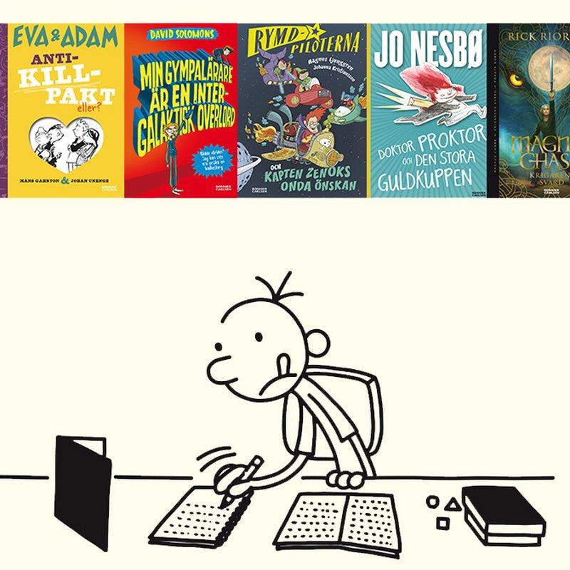 5 hysteriska böcker för barn som älskar
