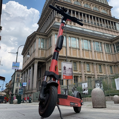 Safe scooting in northen Italy – we've just launched in Turin