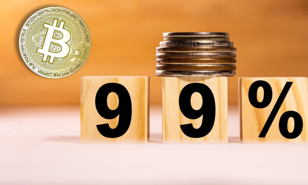 Bitcoin har varit en bra investering 99 procent av dagarna sedan den startades