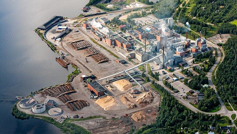 Munksunds pappersbruk i Piteå tillverkar 415 000 ton av pappersprodukten kraftliner per år.