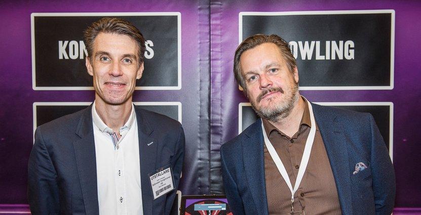 Johan Andersson är marknadsansvarig och Jan Eriksson vd på Ballbreaker.