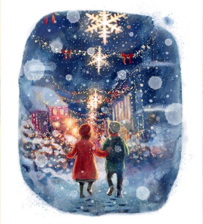 Snösystern är årets vackraste julbok – se de magiska bilderna