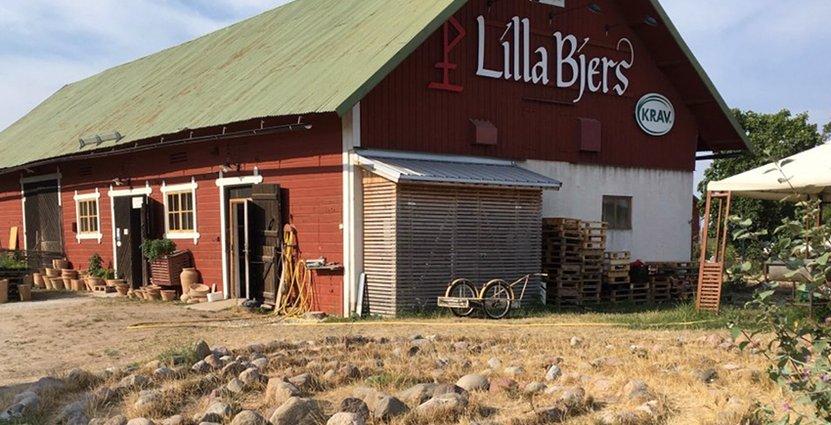 Lilla Bjers på Gotland har tagit emot flera utmärkelser,<br />  bland annat för sitt hållbarhetsarbete. Foto: Lilla Bjers