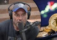 Podcaststjärnan Joe Rogan uppmanar sina lyssnare att köpa bitcoin