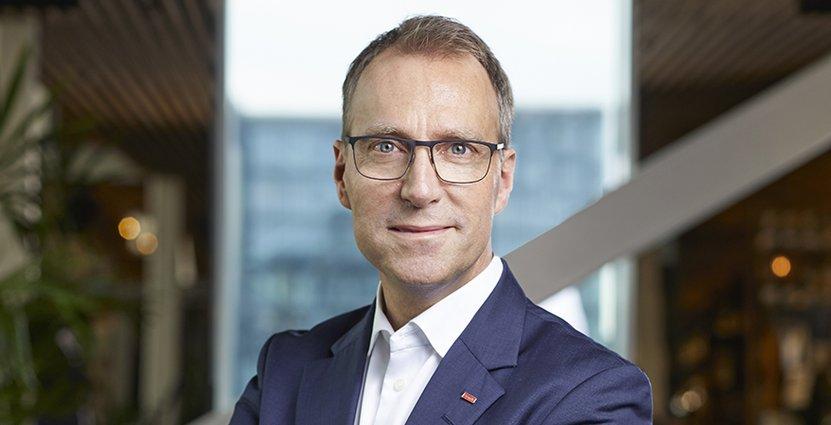 Jens Mathiesen, Scandics koncernchef. Foto: Scandic