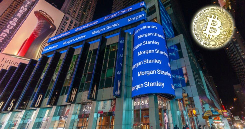 Morgan Stanley startar ny avdelning som ska fokusera på kryptovalutor