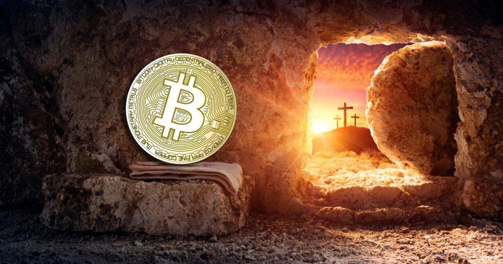 Bitcoinkursen sjönk mot