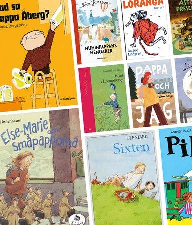 9 barnbokspappor vi älskar - och en vi är livrädda för