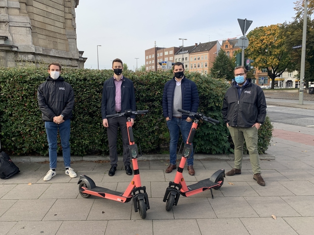 Team Voi and NXP behind two Voi e-scooter prototypes