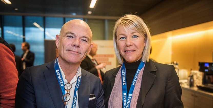 Accors Jan Birkelund i samtal med Åsa Bill, Göteborg stads utbildningsförvaltning.