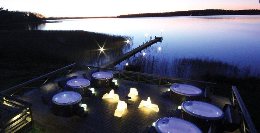 Anläggningen kan ta emot upp till 100 gäster åt gången.