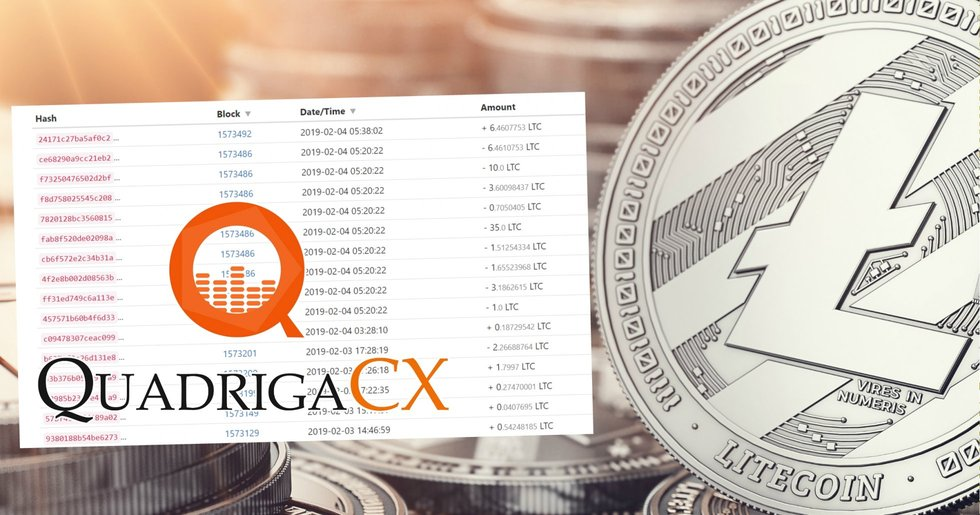 Quadrigacx founder traded user's money on competing exchanges.