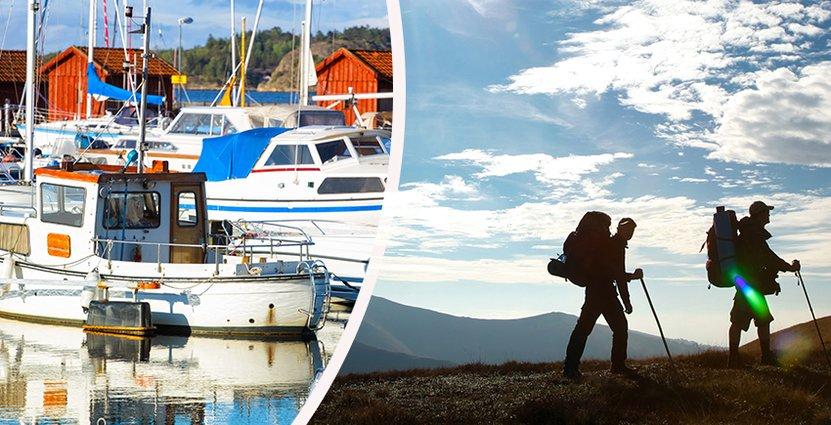 Besöksnäringen blir allt viktigare för svenska kommuner. Det visar en ny undersökning från SKL. Foto: Colourbox