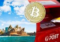 Nu kan du köpa bitcoin på 3 500 australiska postkontor