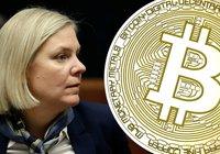 Finansministern om kryptovalutor: Finns stora risker för den finansiella stabiliteten