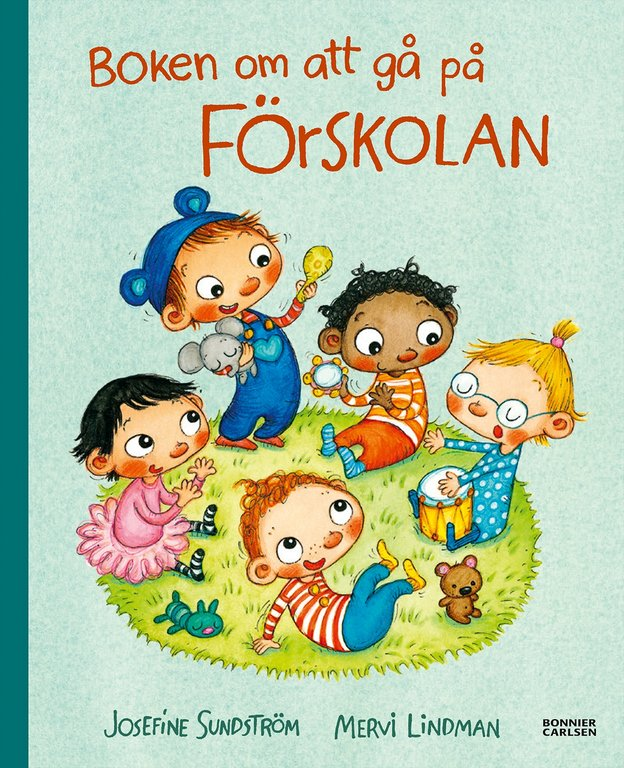 7 barnböcker om att gå på förskolan