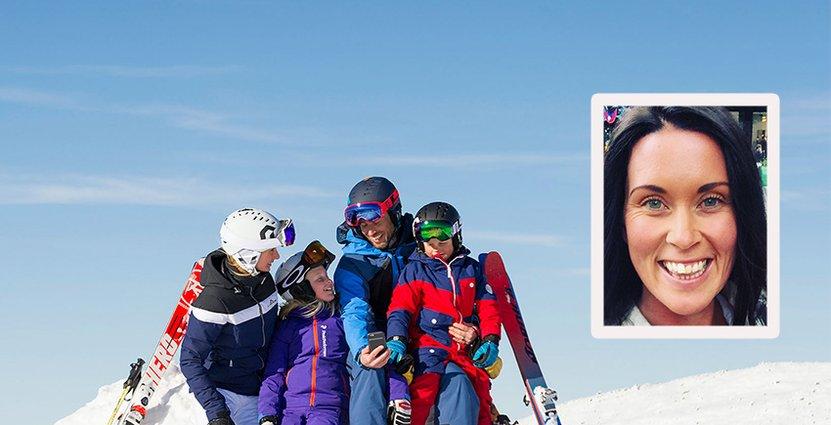 Skistars Camilla Sundqvist tror att varumärket spelar in för att locka personal till Skistar. Foto: Skistar