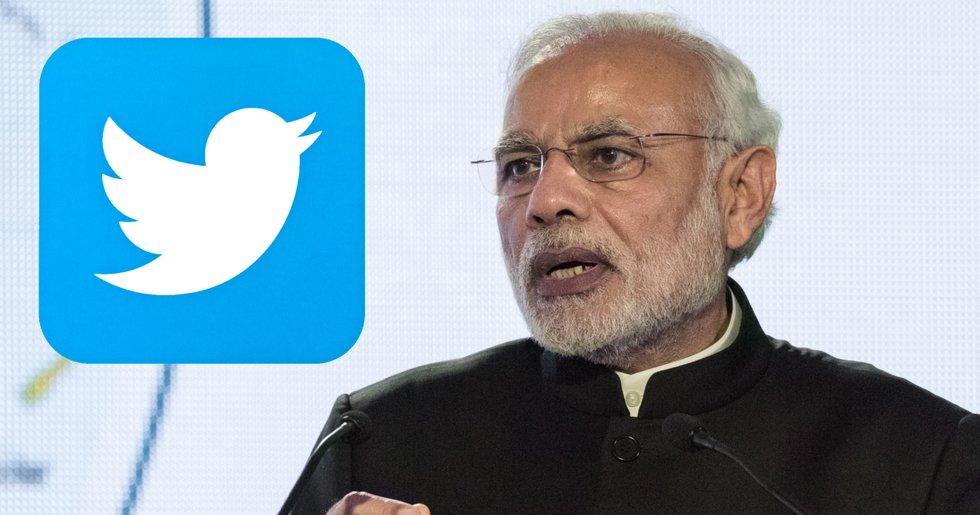 Kryptohackare kapade Indiens premiärministers Twitterkonto.